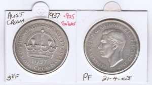 An Australian 1937 Crown