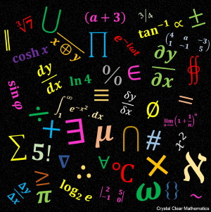 Collage of Mathematical Symbols