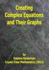 Thumbnail of the Cover of Graeme Henderson's Booklet, Creating Complex Equations and Their Graphs.